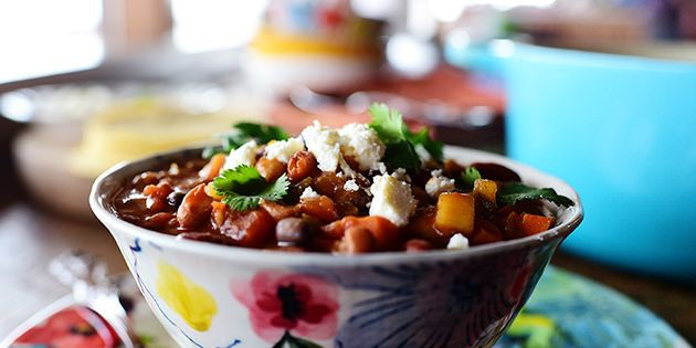 Pioneer Woman S Veggie Chili Recipe