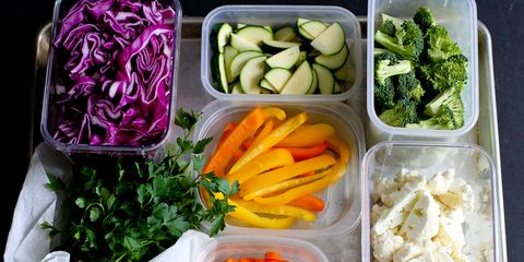 How to Prep Vegetables for the Week on The Pioneer Woman: Food & Friends. (Post from Dara Michalski of Cookin' Canuck)