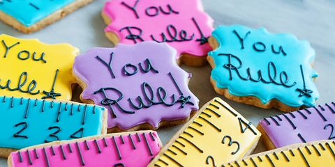 You Rule! Decorated Cookies on The Pioneer Woman: Food & Friends. (Recipe and post from Bridget Edwards of Bake at 350)