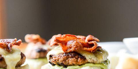 Chipotle Bacon Turkey Sliders