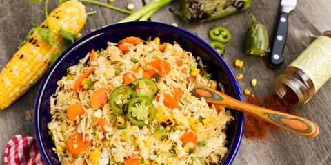 Grilled Sweet Corn and Jalapeno Slaw
