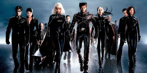 Team, Crew, Dry suit, Wetsuit, Fictional character, Animation, Leather, Latex clothing, Costume design,