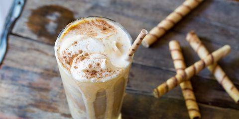 Pumpkin Spice Latte Floats
