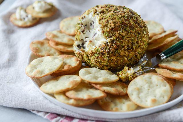 Pistachio Goat Cheese Ball