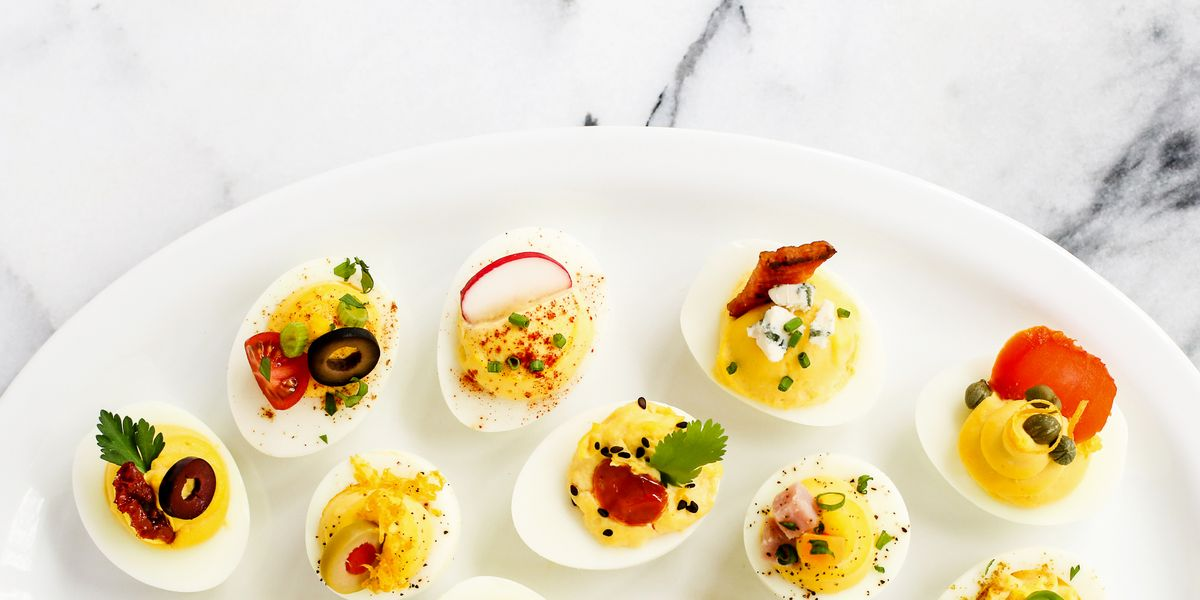 12 Ways To Garnish Deviled Eggs