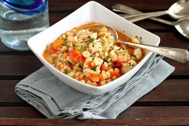 Chicken Barley Stew