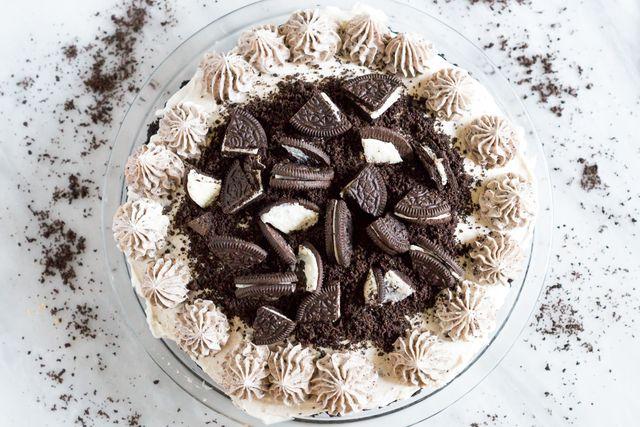 No Bake Cookies and Cream Cheesecake