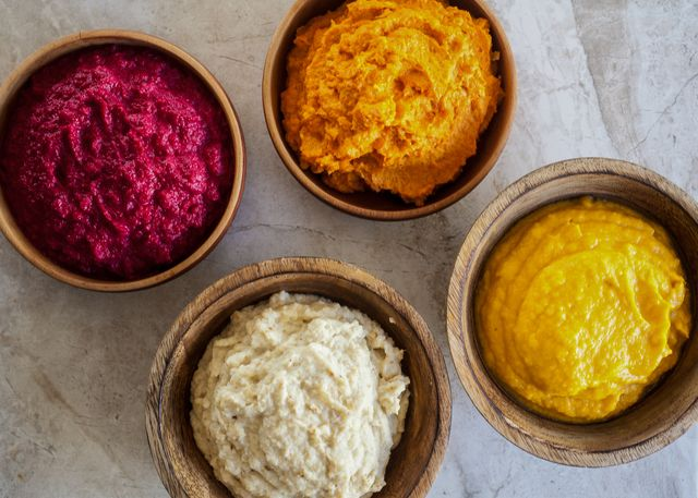 Vegetable Mash Alternatives