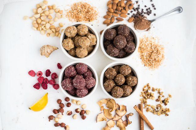 How to Make Fruit & Nut Energy Bites
