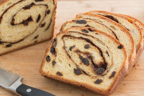 Homemade Cinnamon Raisin Bread