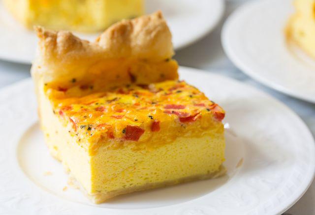 Easy 4-Ingredient Egg Bake