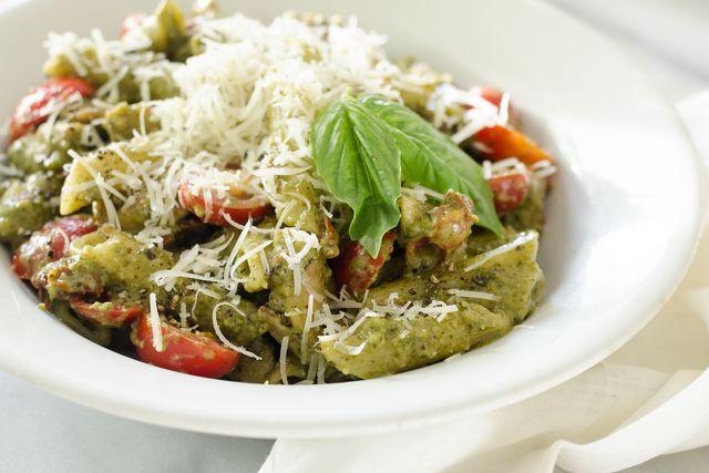 One-Pot Chicken Pesto Pasta