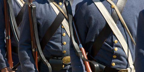 US Civil War re-enactors