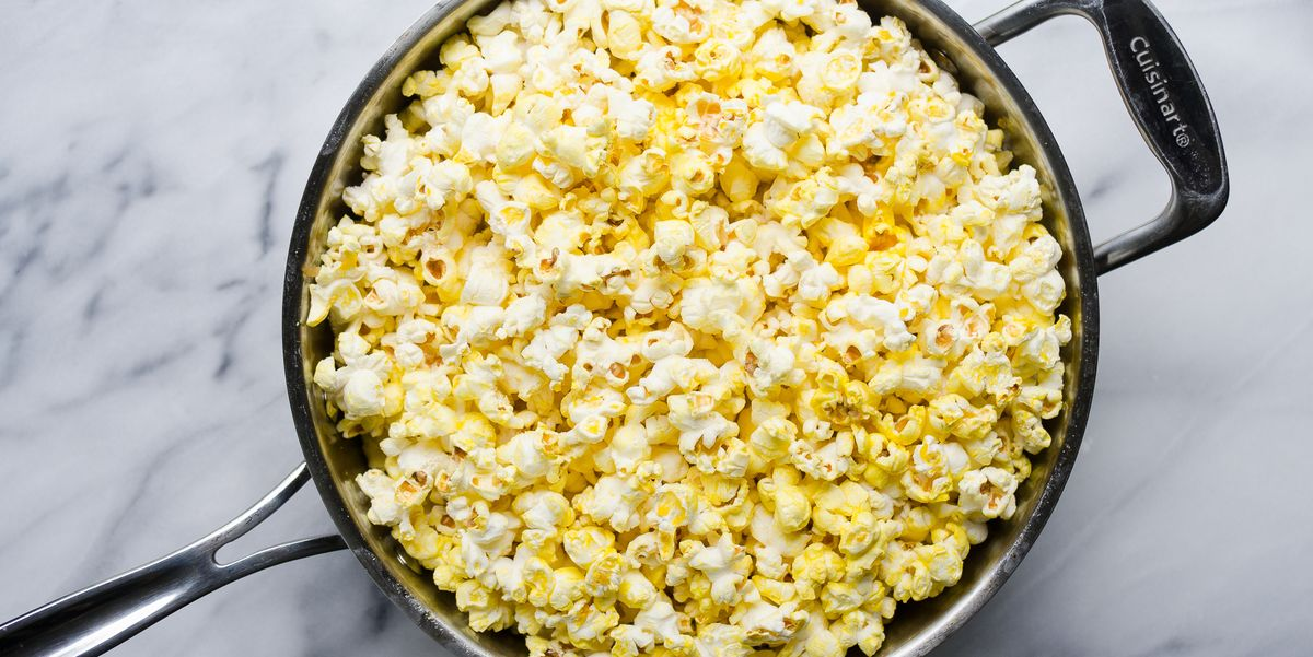 Best Stovetop Popcorn Recipe - How to Make Popcorn