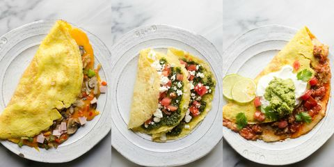 Omelettes 3 Ways
