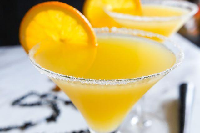 New Year's Eve Cocktail: Elderflower and Orange