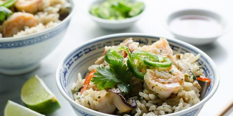 One-Pot Shrimp and Coconut Rice