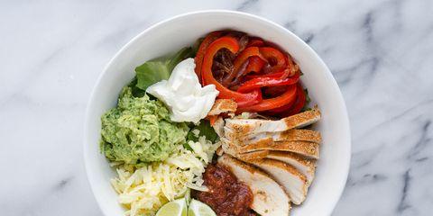 Chicken Fajita Salad Bowls