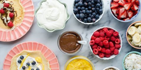 How to Set Up a Crepe Bar