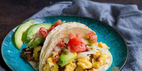 Chorizo Breakfast Tacos 00