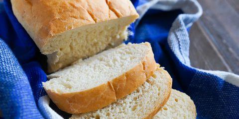 How to Make Potato Bread sliced