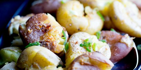 Instant Pot Smashed Potatoes with Garlic Brown Butter 10