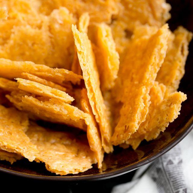 Sourdough Cheese Crackers 13