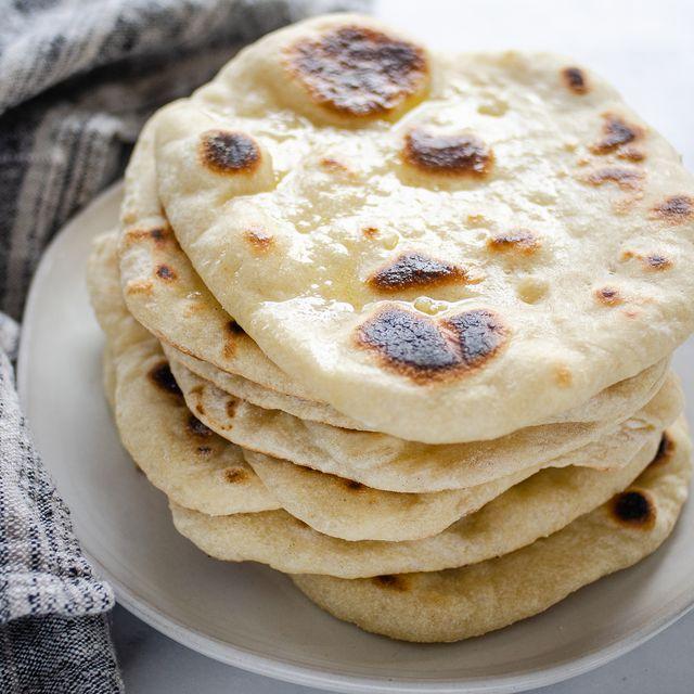 Sourdough Naan Bread 01