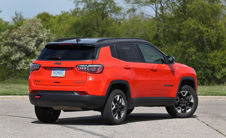 2017 jeep compass fuel economy review car and driver. Black Bedroom Furniture Sets. Home Design Ideas