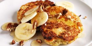coconut and banana pancakes for runners
