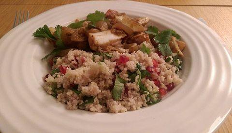 Food, Dishware, Serveware, Cuisine, White, Ingredient, Tableware, Plate, Recipe, Leaf vegetable,