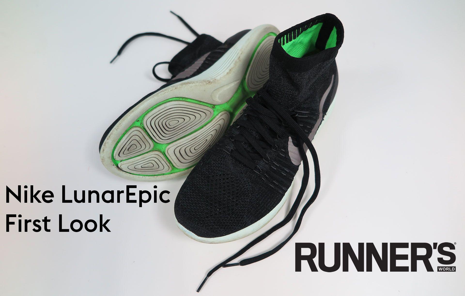 wholesale dealer d36bd 79a37 Shoe review  Nike LunarEpic exclusive first look