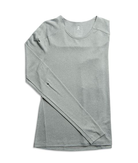 04c5b3665daaf A long sleeved running t-shirt from On