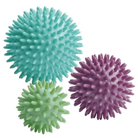 62a02f1a7 Designed to release tight and uncomfortable muscles, increase blood  circulation and remove toxins post-run, these handy massage balls are  compactable enough ...