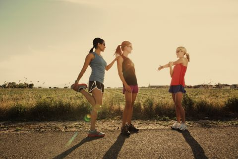 4-week pre-plan programme for new runners