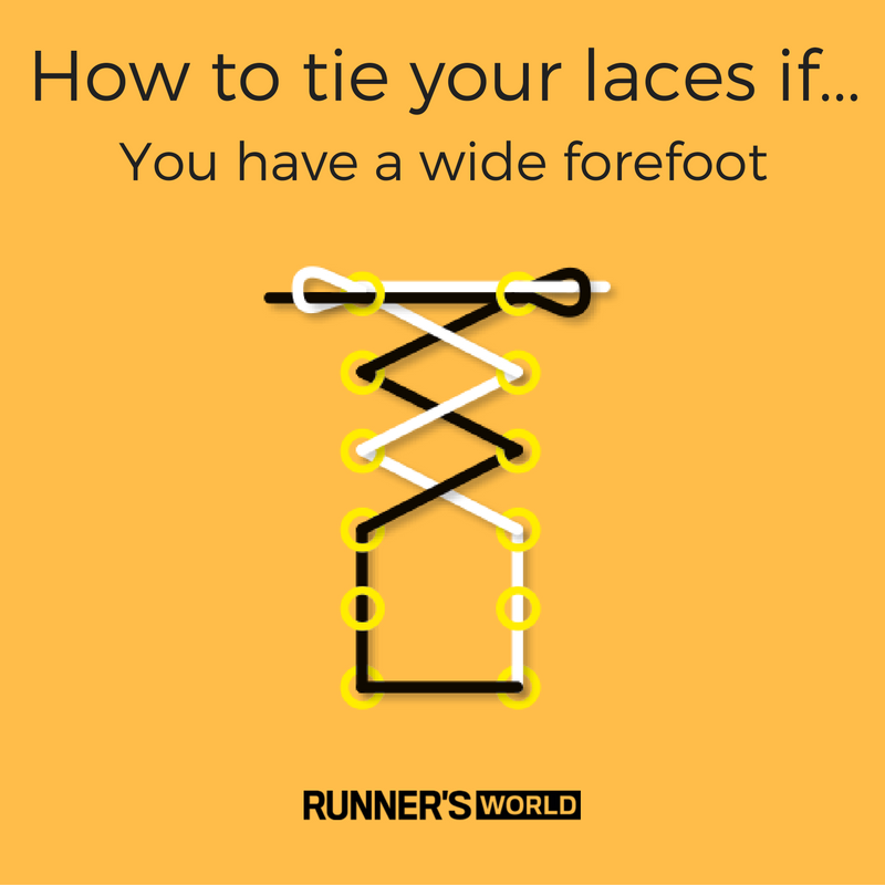 How to tie your laces for running