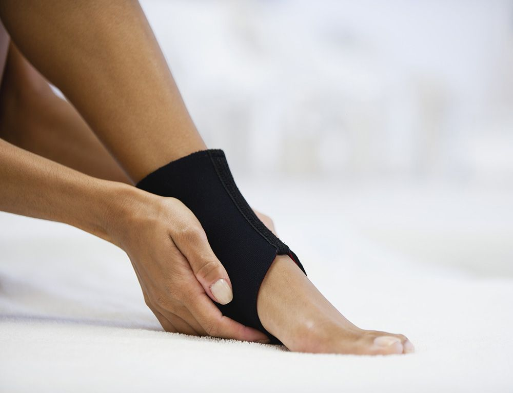 best running ankle support