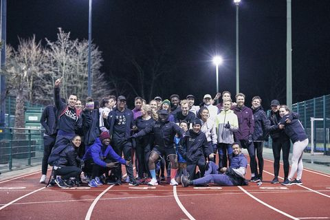 Sport venue, Competition event, Team, Sports, Event, Crowd, Stadium, Night, Championship, Track and field athletics,