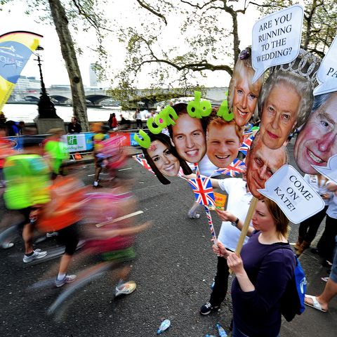 how to track runners at the london marathon