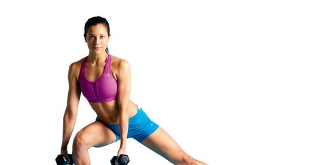 Thigh, Arm, Human leg, Leg, Weights, Strength training, Joint, Physical fitness, Knee, Lunge,