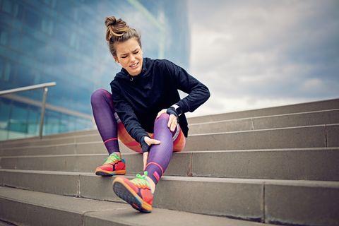 lower leg injury runner