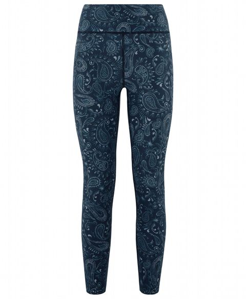 4fd14224c09b4c We love everything about these cropped running leggings (which if you're  petite will be more of a full-length fit), from the paisley print to the ...