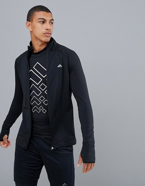 65388c5844606 If you're looking for an affordable running layer to add to your wardrobe,  this zipped sweatshirt from First has raglan sleeves for unrestricted  movement, a ...
