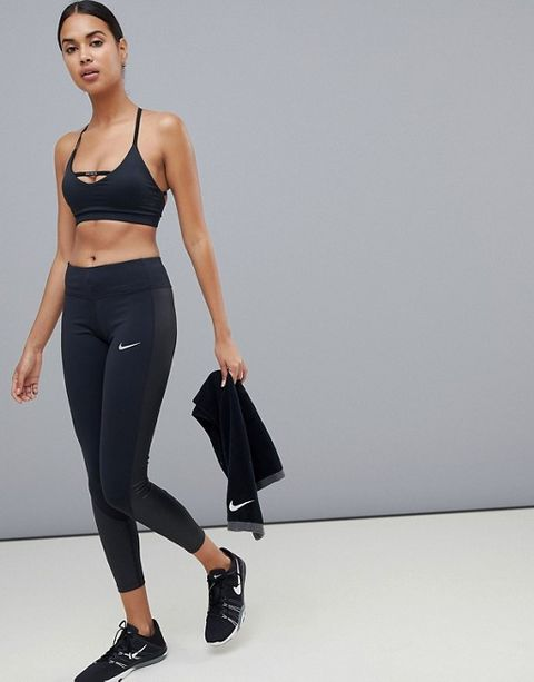 91ae0e9ce9e83 A high-rise waist with an internal drawcord, reflective details for better  visibility in low light and a zipped back pocket for your keys and a  lipbalm, ...