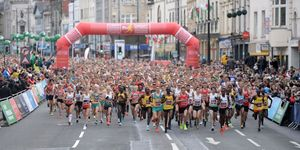 runner dies cardiff half