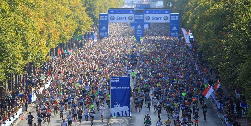 Berlin Marathon Strecke 2021