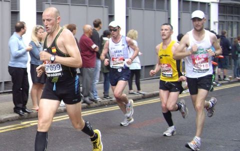 Footwear, People, Recreation, Infrastructure, Endurance sports, Athlete, Running, Athletic shoe, Human leg, Physical fitness,
