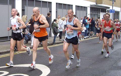 Clothing, Footwear, People, Recreation, Infrastructure, Athletic shoe, Human leg, Running, Endurance sports, Athlete,