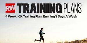 4 week 10k training plan