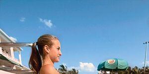 Fun, Photograph, Recreation, Leisure, Joint, Summer, Aqua, Vacation, Thigh, Sunlight,